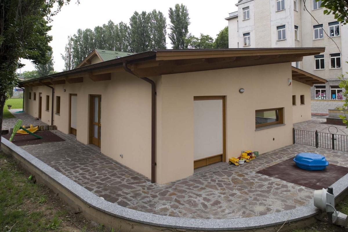 Casa in legno in stile classico