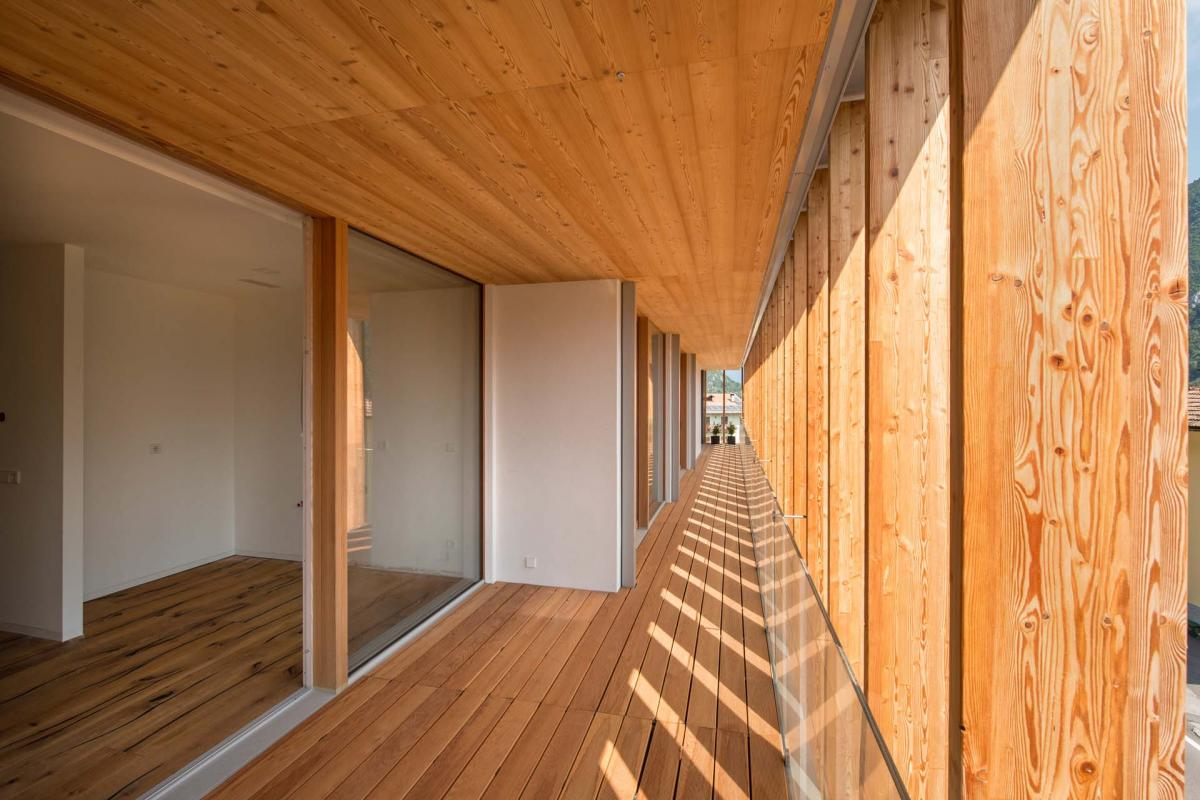 Edificio in legno in Olanda