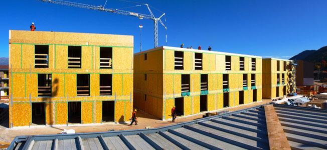 Edificio multipiano, località Cavedine