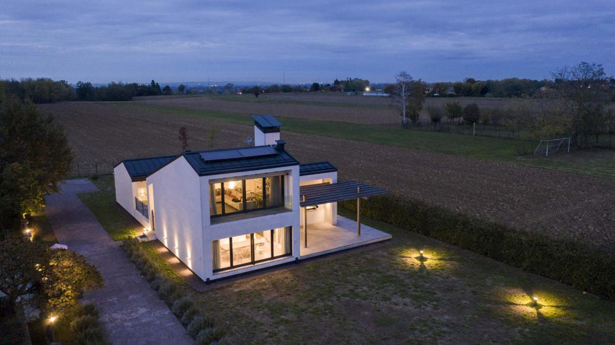Referenze e realizzazioni ille case in legno tecnologia esperienza ed affidabilit nella - Ampliare casa con struttura in legno ...