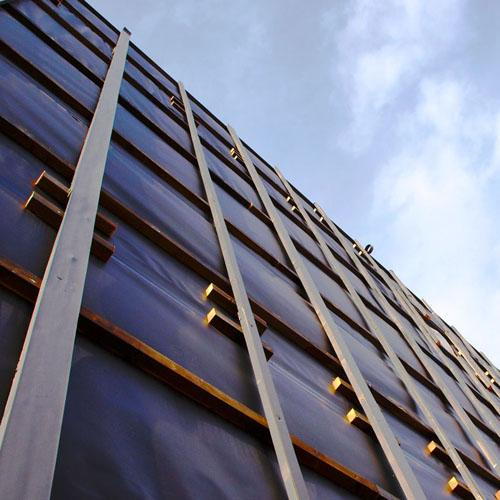 Sopraelevazione in legno, edificio a Caorle