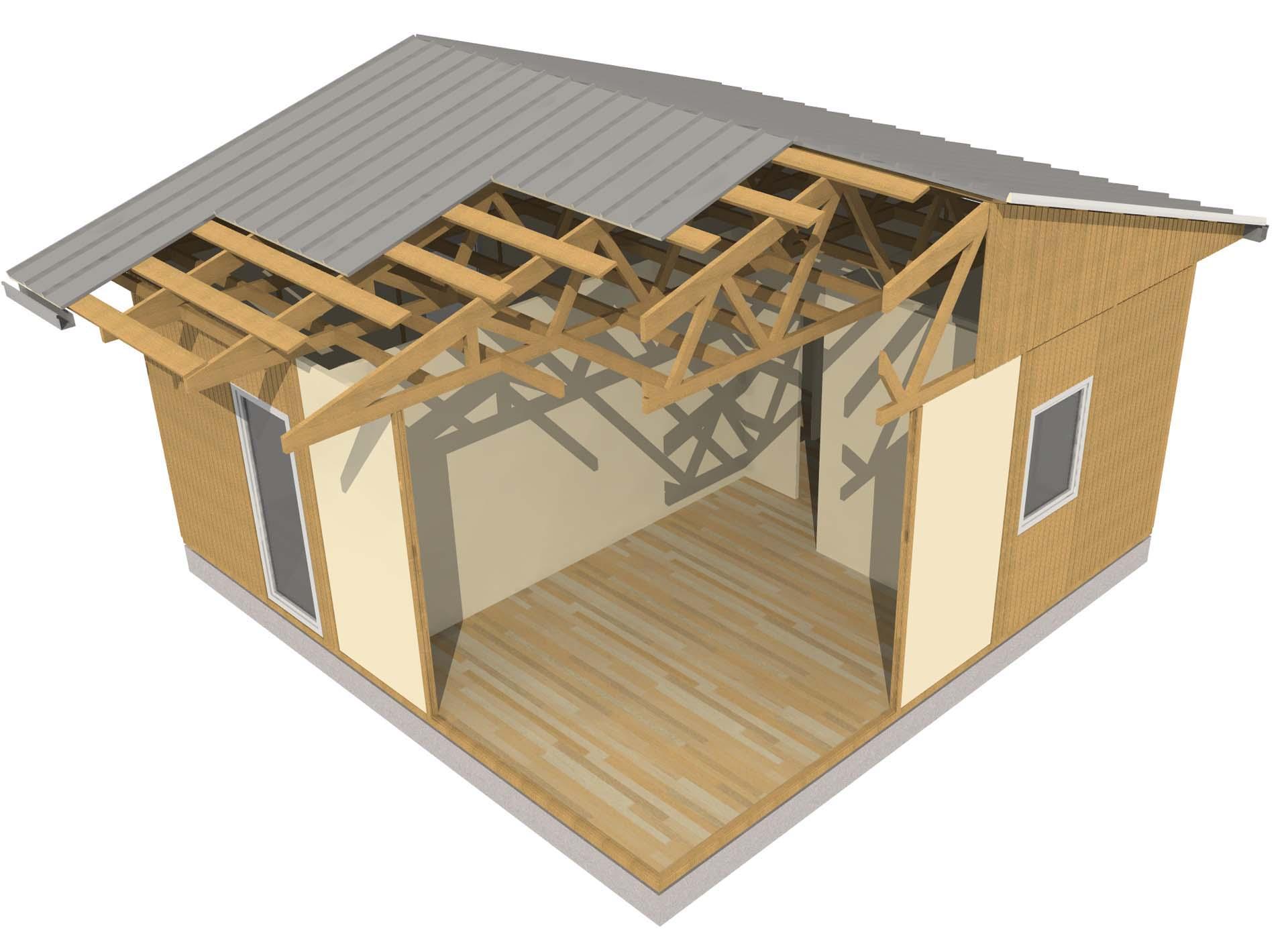 ILLE FAST sistema modulare casa in legno