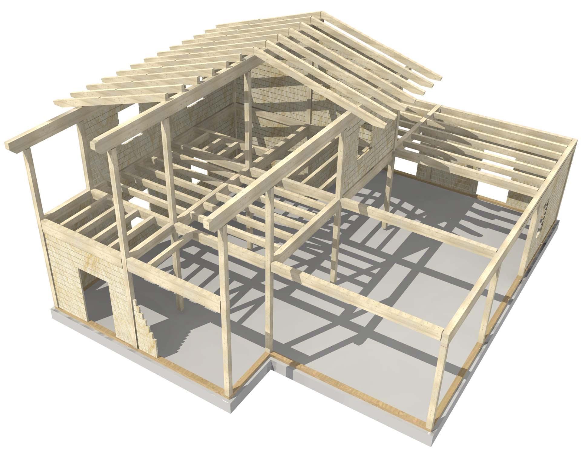 ILLE FRAME sistema costruttivo casa in legno