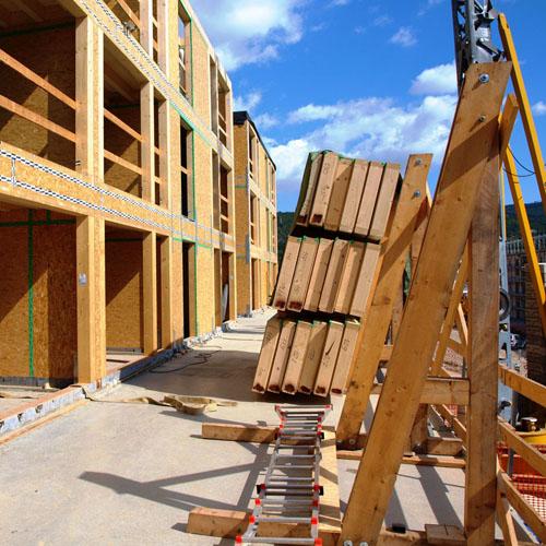 <b>Modernità nelle costruzioni in legno</b>
