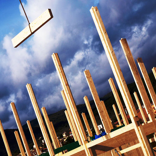 <b>casa moderna in legno</b>