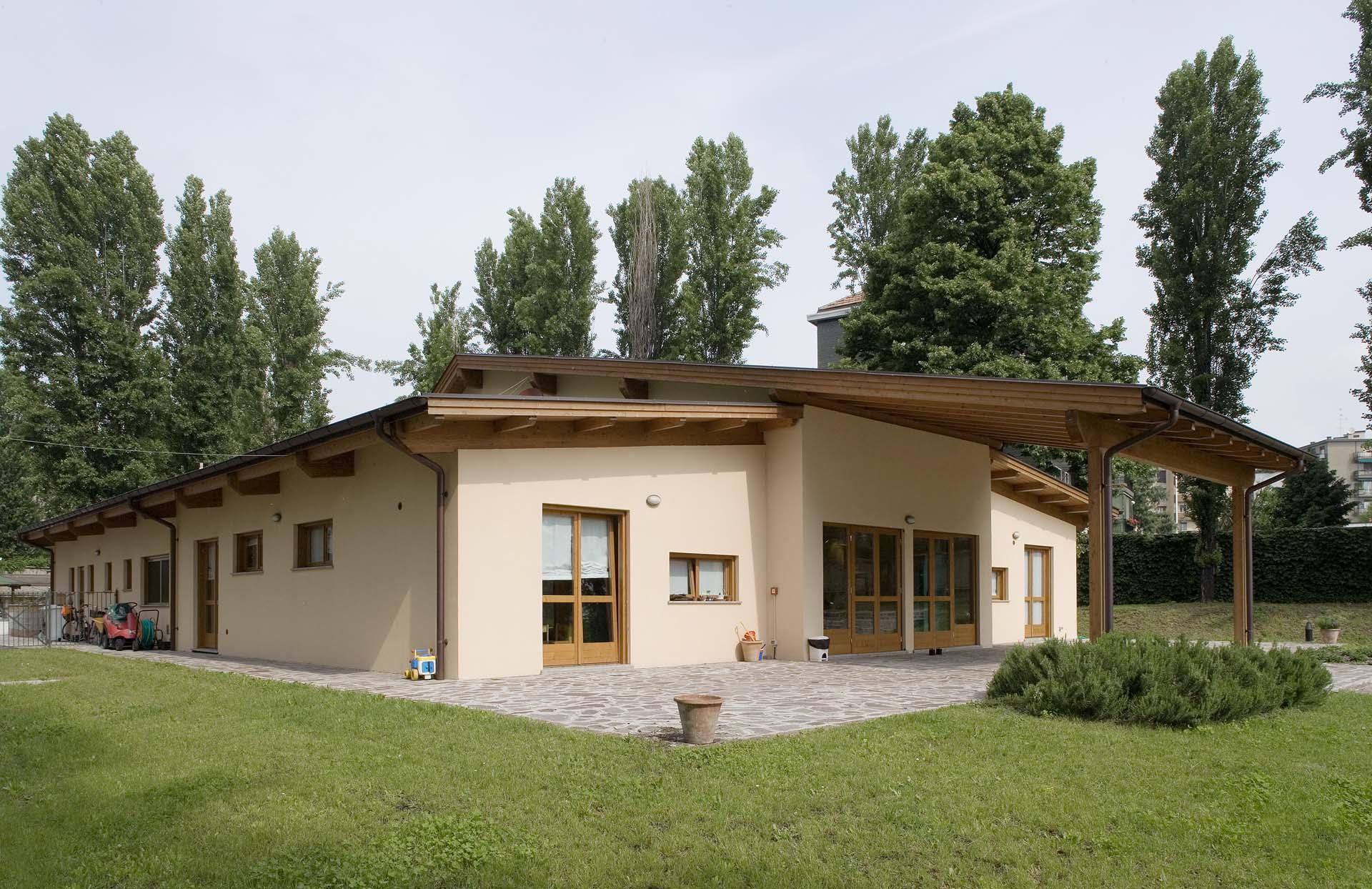 Classico ille case in legno tecnologia esperienza ed for Facciate di case classiche