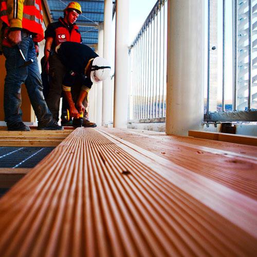 Sopraelevazioni ille case in legno tecnologia for Sopraelevazione in legno